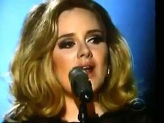 Adele - Grammy 2012 performance of Rolling In The Deep