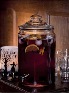 Skeleton Sangria  Recipe ~ easy-to-make, sinfully delicious sangria.