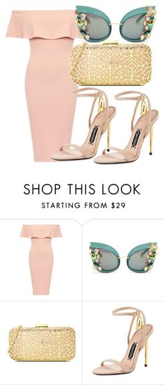 """""""Untitled #322"""" by samstyles001 on Polyvore featuring Dolce&Gabbana, Love Moschino and Tom Ford"""