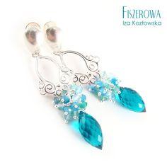 Spring ocean / Fiszerowa / Biżuteria / Kolczyki