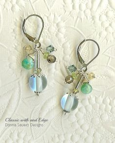 Waters Edge Earrings | Donna Sauers Designs