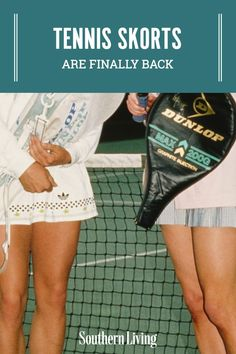 Tennis skorts are coming back more popular than ever before, and you don't need to have a racquet and reservation at the courts to rock it. You can pair the versatile skirt-short bottom with an oversized sweatshirt and sneakers á la Princess Di, or choose a more brunch-ready route with a blazer and pearls. #tennisskorts #tennisskirts #southernstyle #southernliving Southern Fashion, Southern Style, Tennis Skirts, Match Point, Long Shorts, Princess Diana, Cheetah Print, Skort, Short Skirts