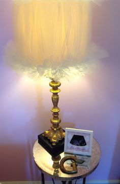 How to make your own Tulle Lampshade for less than $20! Shabby Chic Lamp Shades, Do It Yourself Furniture, Painting Lamps, I Love Lamp, Dream Bedroom, Cool Lighting, Lampshades, Light Fixtures, Interior Design
