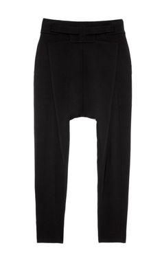 Silk Cady Drop Crotch Pants by Givenchy - Moda Operandi