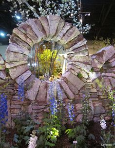 Moon gate at the 2011 Rhode Island Spring Flower & Garden Show.ledgeandgardens.typepad.com