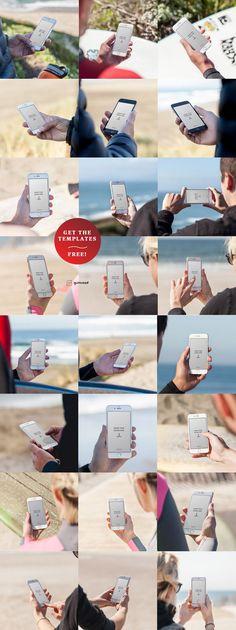 Free 24 iPhone 6 Mockups (545 MB) | graphicsfuel.com