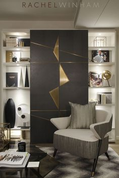 Splendid TV joinery designed by Rachel Winham Interior Design for a project at Southbank Tower. The post TV joinery designed by Rachel Winham Interior Design for a project at Southbank … appeared first on Cazoz Diy Home Decor . Luxury Interior Design, Luxury Home Decor, Contemporary Interior, Interior Decorating, Decorating Ideas, Contemporary Living Room Designs, Interior Styling, Interior Architecture, Modern Design