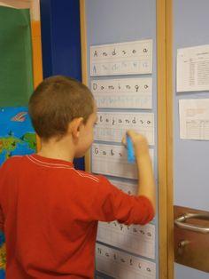 LA CLASE DE MIREN: mis experiencias en el aula: EL NOMBRE: de mayúsculas a minúsculas