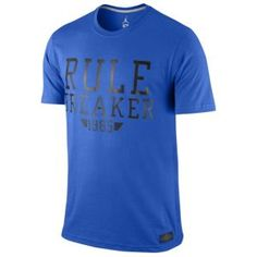 Jordan Rule Breaker T-Shirt - Men's - Game Royal/Black