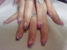 glitter pink - Nail Art Gallery by NAILS Magazine