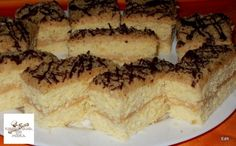 Grízes-almás sütemény Recept képpel - Mindmegette.hu - Receptek Tiramisu, Banana Bread, French Toast, Yummy Food, Cheese, Breakfast, Ethnic Recipes, Morning Coffee, Delicious Food