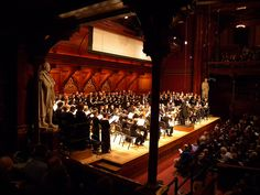 Bach Christmas Concert, Sanders Theatre at Memorial Hall, Harvard University