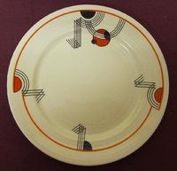 MIDWINTER ART DECO PLATES......I WANT THIS ONE