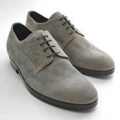 Grey Suede Shoes by Armando Cabral