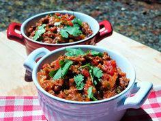 Bobbi's Kozy Kitchen: Tex-Mex Gut Buster Chili for a Man Food #SundaySupper