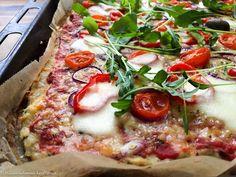 Hiidenuhman keittiössä: Pizzapohja broilerin jauhelihasta – broileripizza