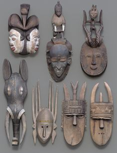 7 #African #Masks | 3D Models and 3D Software by #Daz 3D