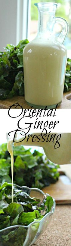Oriental Ginger Dressing  The perfect salad dressing that is similar to Applebee's oriental chicken salad dressing but healthier and still just as yummy! |healthy salad dressing| |gluten free| |salad dressing| |oriental ginger dressing| |ginger dressing| |oriental dressing| paleo salad dressing | paleo dip |