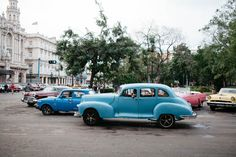 A Postcard from Cuba: Old Classic Cars