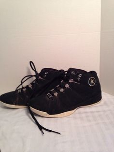 Mens Converse, Black, Basketball, Size 9, Med, Laceup #Converse #BasketballShoes