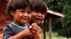 Crianças Kaiapó.