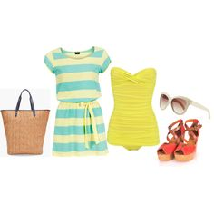 Summertime, created by spanwayhits on Polyvore