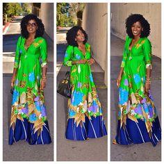 Today's Post: Vintage floral dress