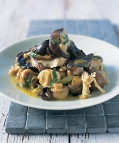 Italian mushroom ragout — inspired by Franca and Stefano Manfredi. Photo by Ian Wallace