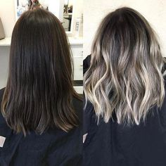 40 Fabulous Ombre & Balayage Hair Styles – Hottest Hair Color Ideas - All For Hair Color Balayage Ombre Curly Hair, Ombre Hair Color, Hair Color Balayage, Blonde Balayage, Hair Colors, Brunette Color, Medium Hair Cuts, Medium Hair Styles, Curly Hair Styles