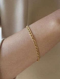 Two filaments of stocky silver grains make a classy wrap for the wrist. The little nuggets are improved with an imprinted gourd-like appeal that hangs near the clutch. Thin Gold Bracelet, Gold Bracelet For Women, Silver Bracelets, Jewelry Bracelets, Silver Jewelry, Layered Bracelets, Diamond Bracelets, Jewellery, Beaded Bracelet