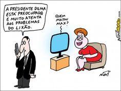 Dilma cancela comício para assistir a novela