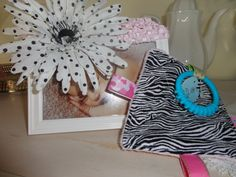 Baby Girl Toys Taggie Crinkle toy in Zebra by Sassydoodlebaby, $8.99