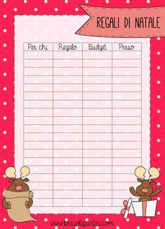 Christmas presents plan Organization Bullet Journal, Planner Organization, Christmas Deco, Christmas Time, Christmas Presents, Home Binder, Journal Layout, List, Happy Planner