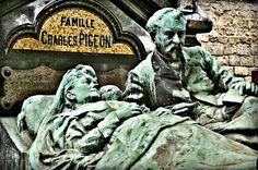 Here is a good website on Paris cemeteries and a great resource of maps of the most notable cemeteries in Paris