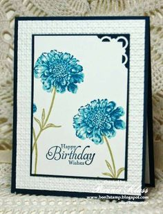 5/31/14. Stamping with Klass: Farewell Field Flowers