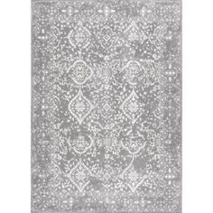 nuLOOM Vintage Odell Silver 7 ft. 10 in. x 10 ft. 10 in. Area Rug RZBD21C-71001010 at The Home Depot - Mobile