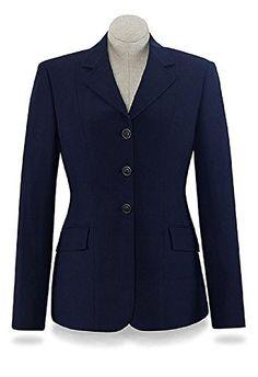 R.J. Classics Ladies Devon Show Coat 6L Navy