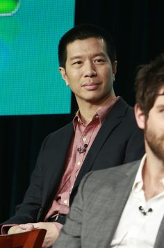 Reggie Lee during the Grimm panel at TCAs