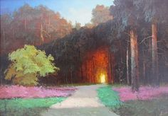 by Victor Bykov - russian lanscape-painter