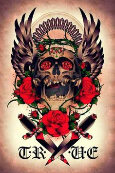 #skulls tattoo idea perhaps?