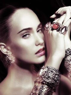 Jewelry suits every time.  http://beverlyhillssilver.com/