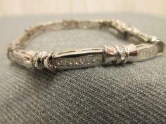 shopgoodwill.com: Jeweled Sterling Silver Bracelet