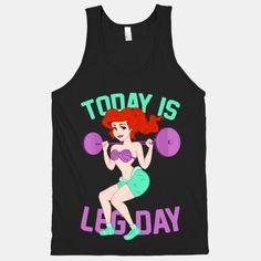 Today Is Leg Day (squat)   HUMAN   T-Shirts, Tanks, Sweatshirts and Hoodies