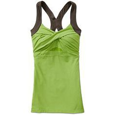 Jaya Tank - The support tank with a twist that has a flattering neckline and an X-back for full range of arm motion.