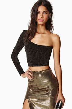 Nasty Gal Lola Crop Top