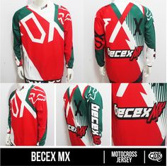 Jersey Motocross Becex MX Sublimation Print  By. Qita Design