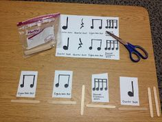 A one-beat rhythm activity - great refresher for the beginning of the year!