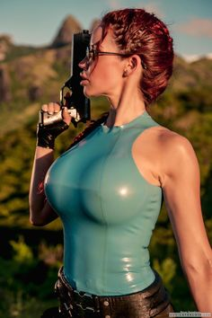 Bianca B as Lara Croft
