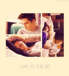 i want you to be safe