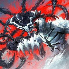 Venom Vs Anti-Venom  #Venom #Antivenom  #Symbiote #Carnage  #Marvel…